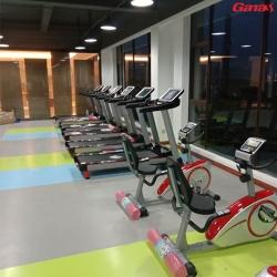 广西中天地产会所项目安装完成 感谢客户选择康宜健身器材供应商