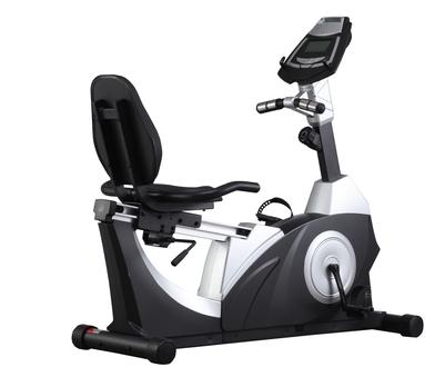 商用卧式磁控健身车
