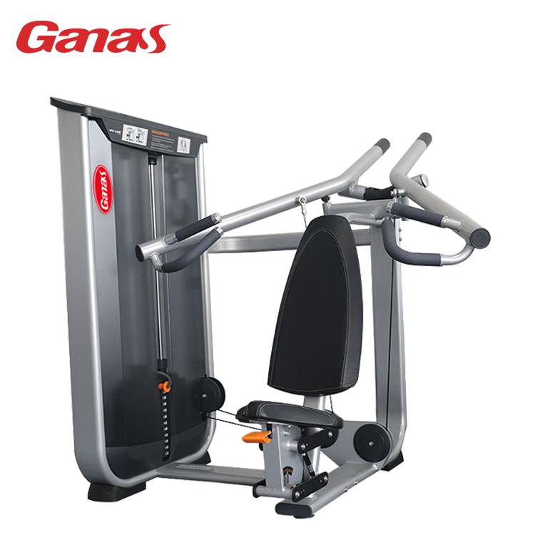 健身房专用力量器械,商用健身器材,室内肩部推举训练器