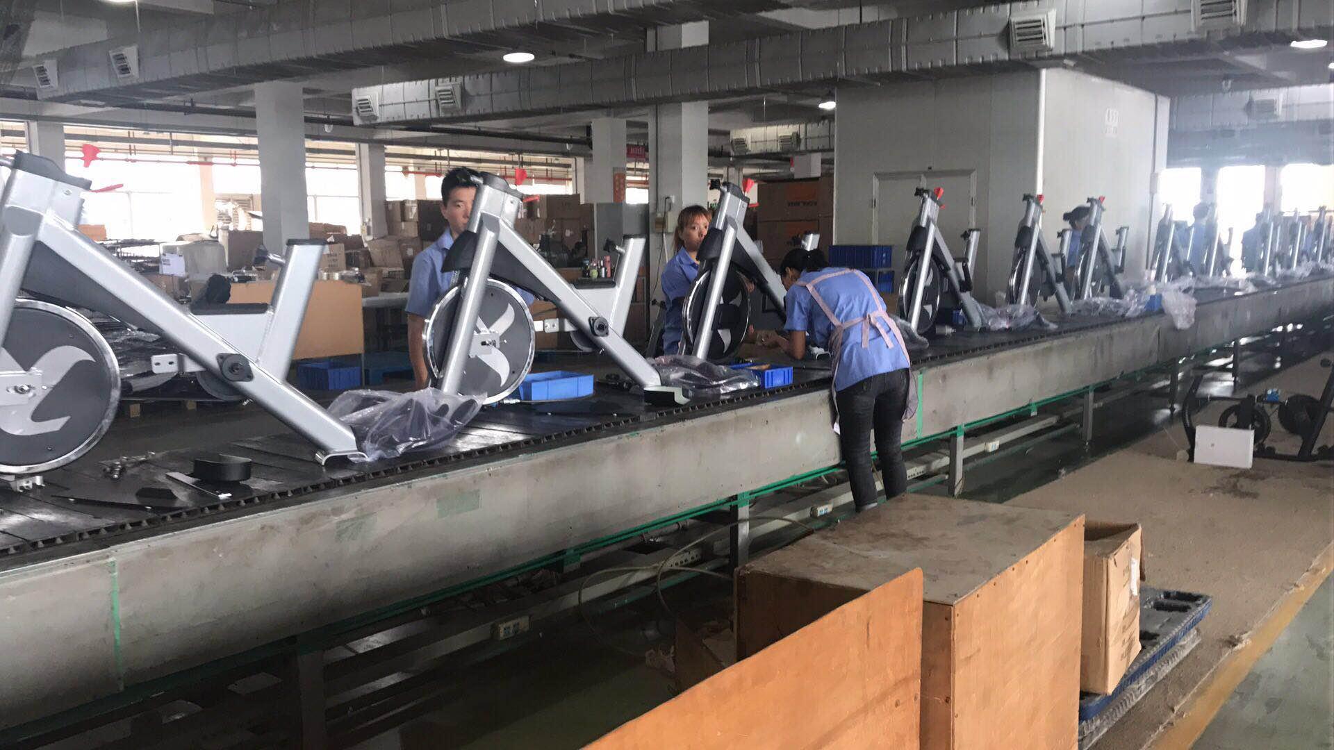 康宜健身器材生产车间