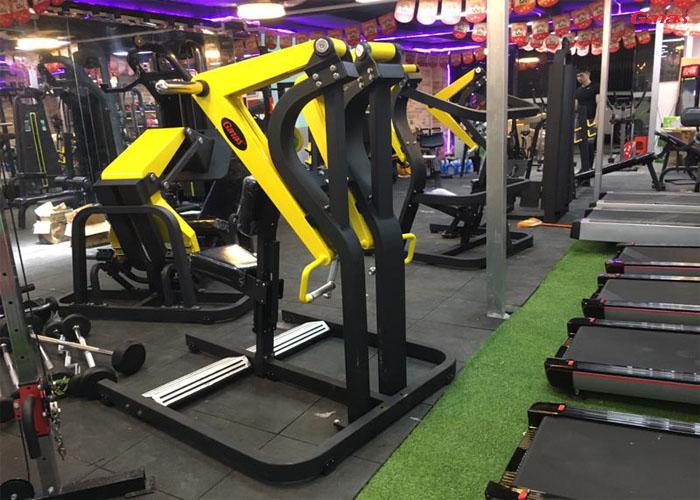 莱卡力健身俱乐部案例 康宜专业健身房器材批发直销