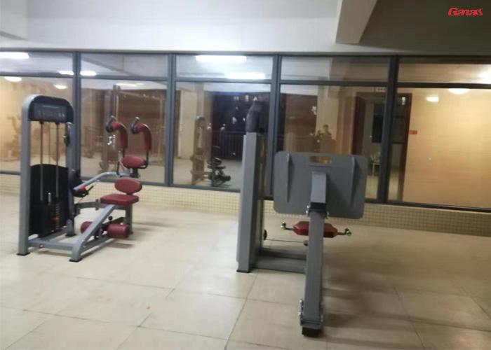 广州龙归消防健身器材案例 康宜室内健身器械厂家直销