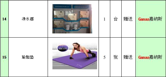 100平米企事业单位小型健身房配置及规划方案