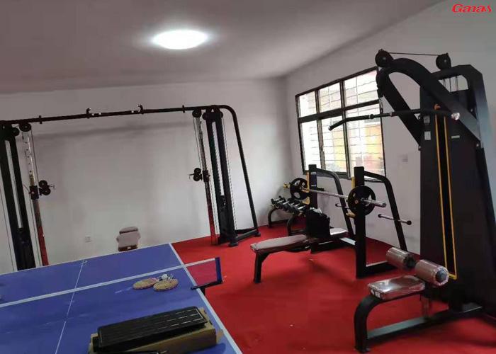西藏林芝地区米林县丹娘乡政府健身房案例
