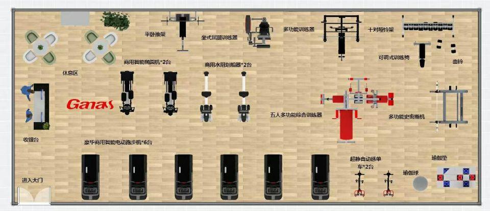 200平方工作室配置方案